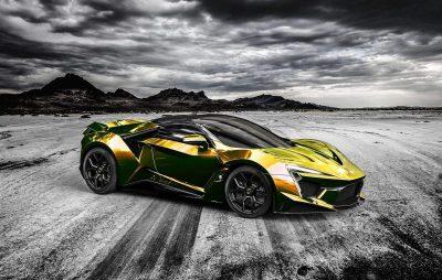 2016 W Motors FENYR SuperSport COLORS - Fantasy Visualizer in 75 Custom Shades
