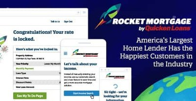 Rocket Mortgage by Quicken Loans® — America's Largest Home Lender Has the Happiest Customers in ...