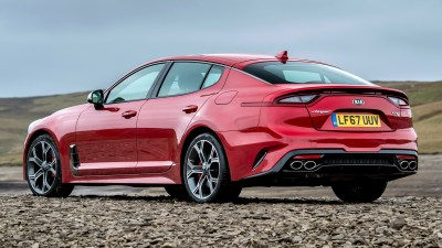 2017 Kia Stinger GTS (UK) - Wallpapers and HD Images | Car Pixel