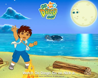 Go Diego Go with a tuga the turtle Wallpaper - Go Diego Go Free Wallpaper - Cartoon Watcher ...