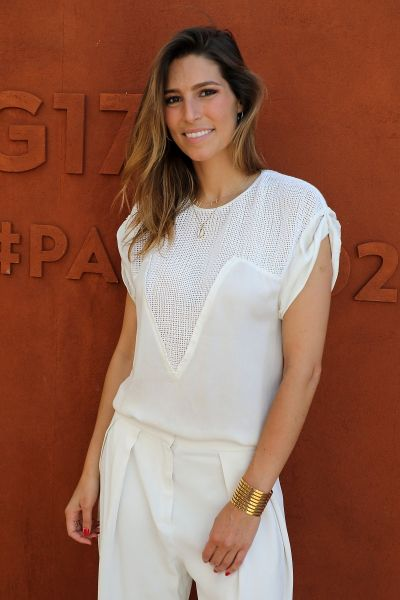 Laury Thilleman At French Open, Paris, France - Celebzz