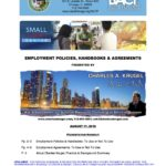 Materials From My 8/17/16 Presentation @ Chicago's City Hall on Employment Policies, Handbooks & Agreements