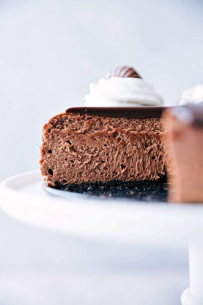 The BEST Chocolate Cheesecake | Chelsea's Messy Apron