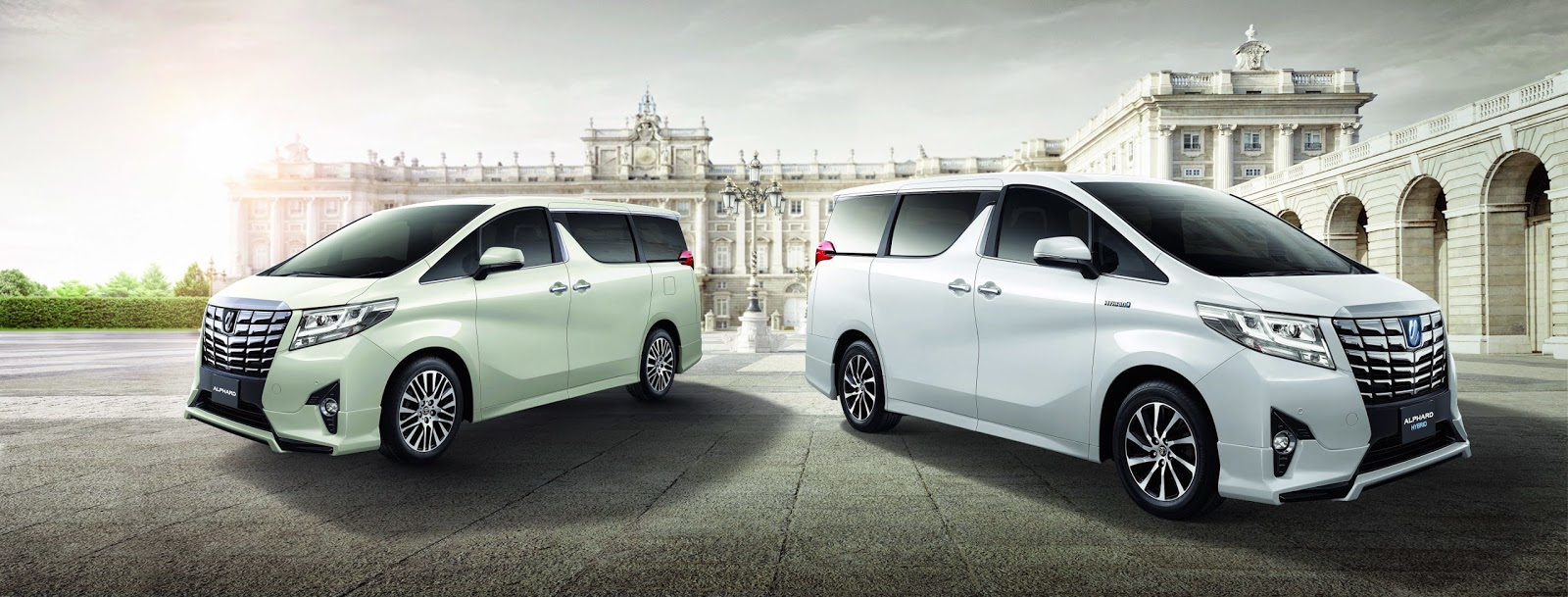 commercial ads of alphard
