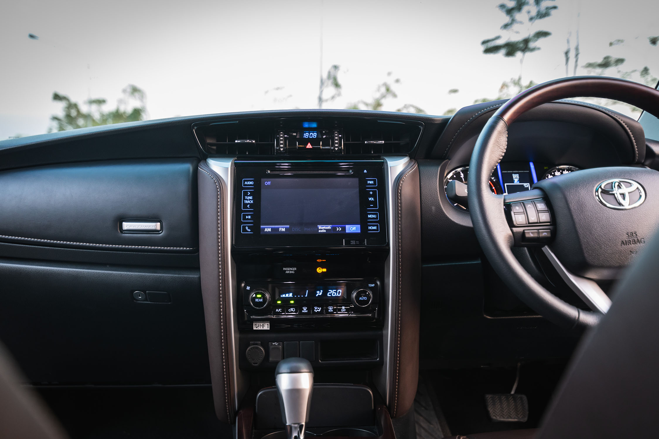 sound system of newest model of toyota fortuner 2019