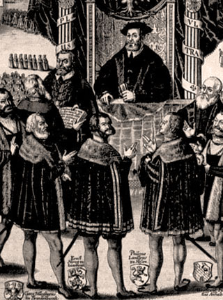 From Luther to the Lutherans   Christian History Magazine From Luther to the Lutherans  presenting augsburg confession