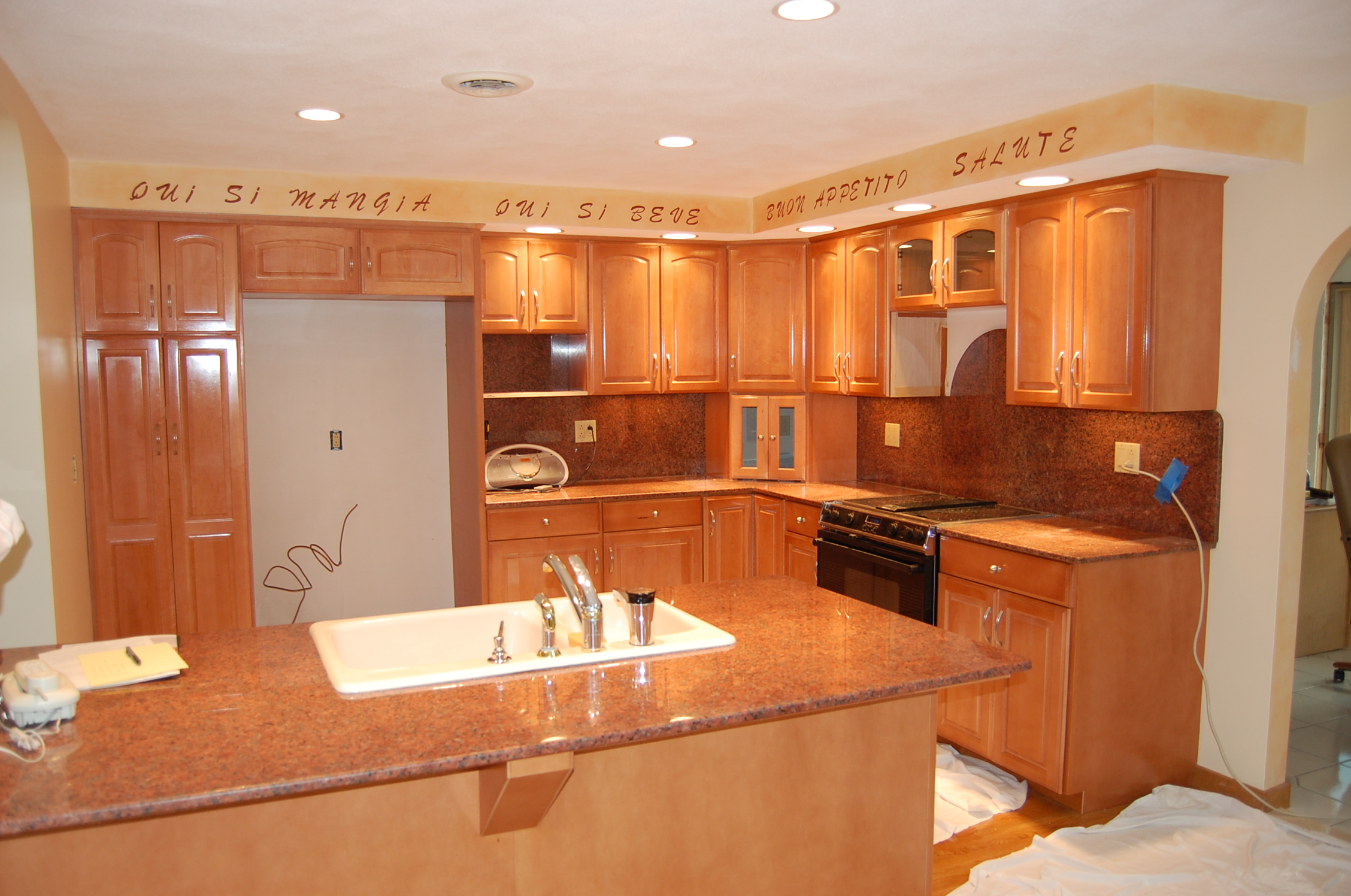 Refacing Process kitchen cabinet remodel Cabinet Refacing Photo