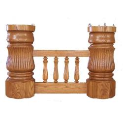 D 10 Double Pedestal Dining Table Clear Creek Amish Furniture