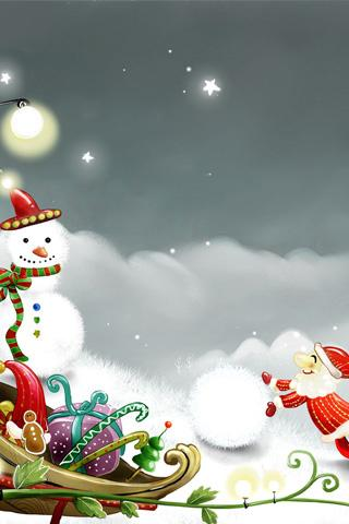 Download Free Christmas iPhone Wallpapers