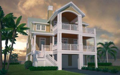 Lindsey Channel - Coastal Home Plans