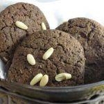 Cookies o Galletas de Algarroba y Piñones... para chuparse los dedos