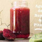 Bebida de Nopal y Pitaya