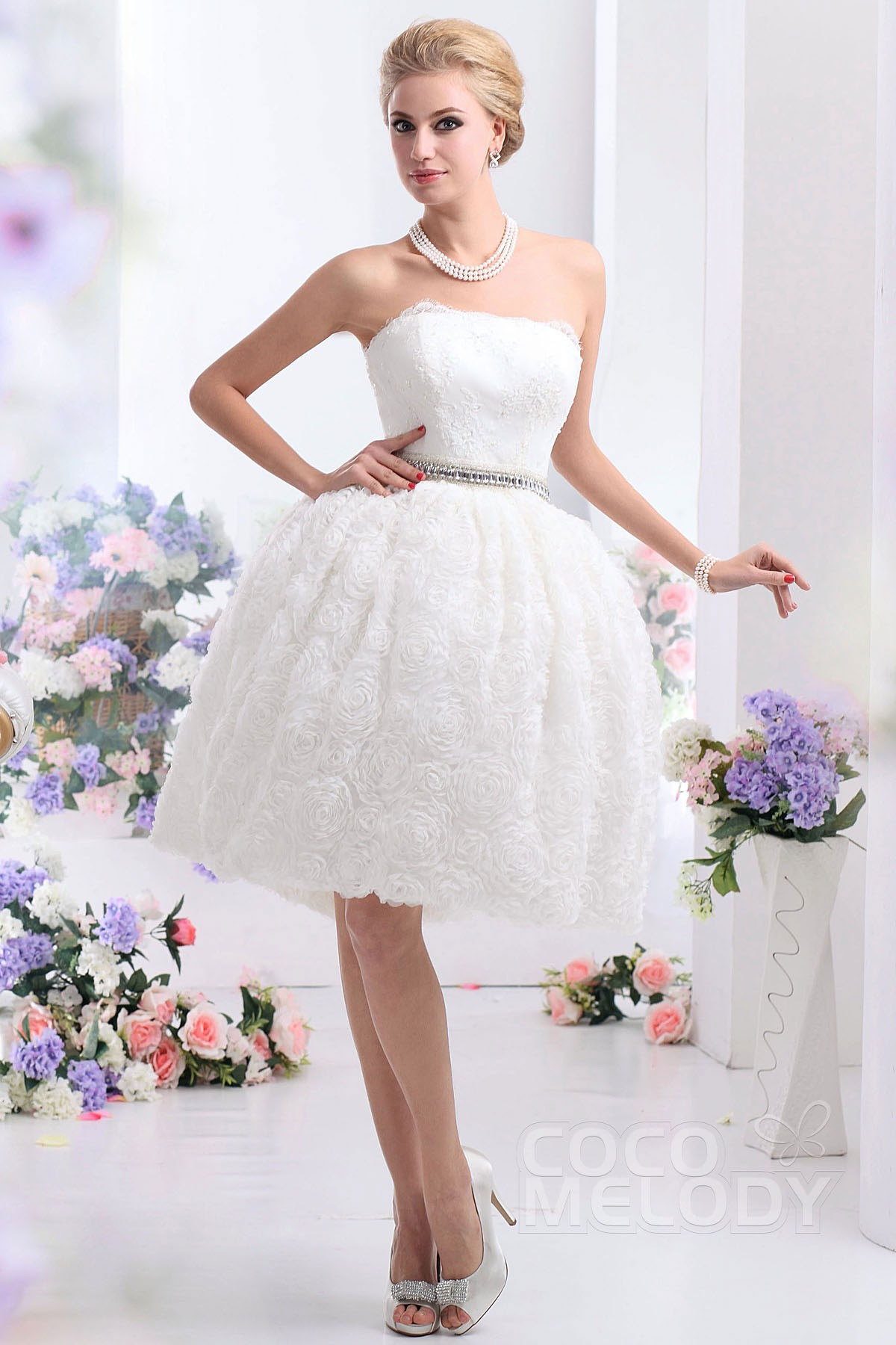 intricately beaded embroidery on circular tulle ball gown wedding dress ball gown wedding dress Intricately Beaded Embroidery on Circular Tulle Ball Gown Morilee Bridal Wedding Dress