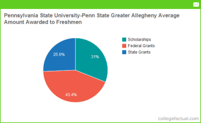 Pennsylvania State University - Penn State Greater Allegheny Grants by Source