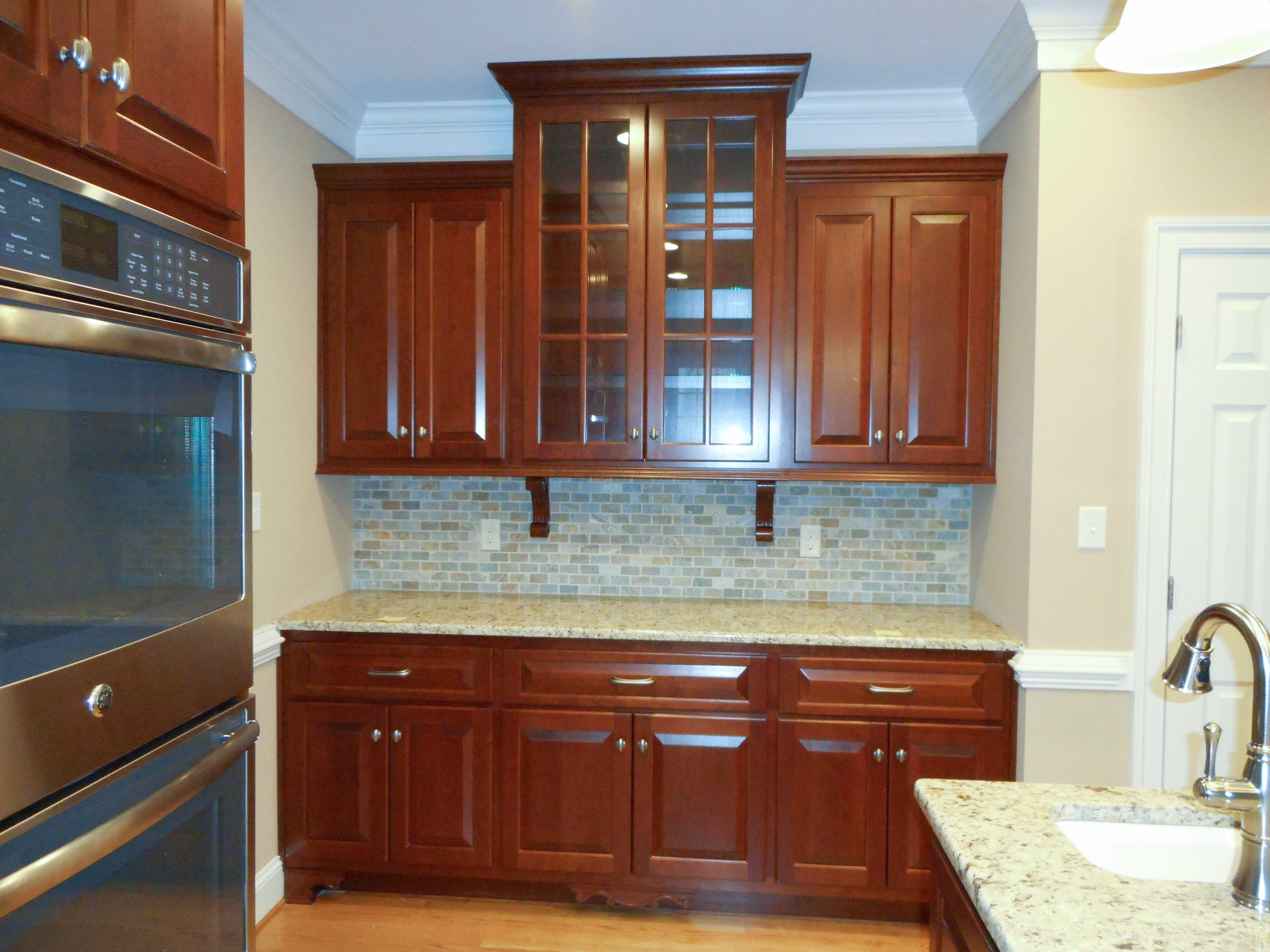 gallery colonial kitchen sink Custom kitchens colonial kitchens open shelves