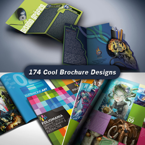 The 174 Coolest Brochure Designs for Creative Inspiration