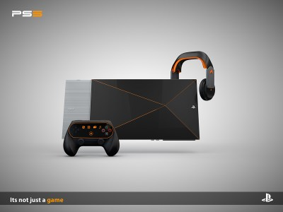 PlayStation 5 Concept Design is Heavily Based on VR and AR Technology | Concept Phones