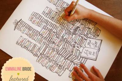 Unique Wedding Guest Book Ideas {Trendy Tuesday}