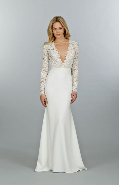 21 Ridiculously Stunning Long Sleeved Wedding Dresses
