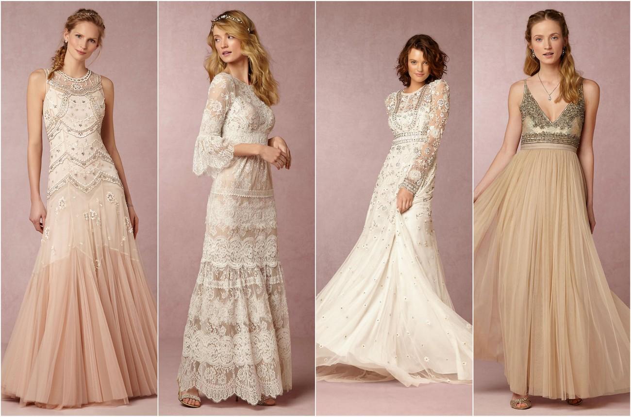 exquisitely romantic bohemian wedding dresses boho wedding dress