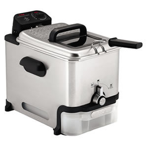 T-fal FR8000 Oil Filtration Easy to clean Deep Fryer
