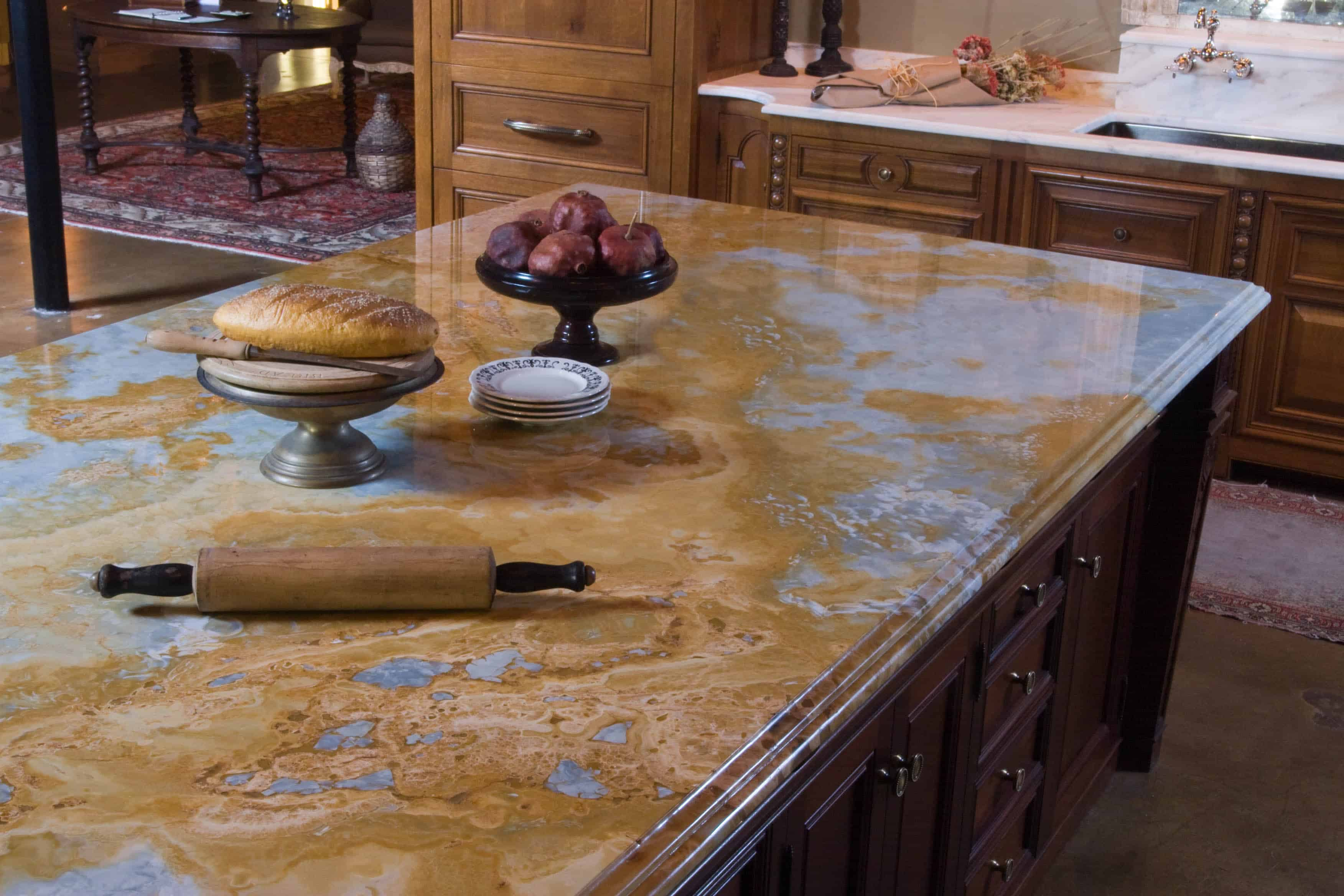 pros and cons of wood countertops granite kitchen countertops cost The Green Choice Natural Stone Countertops