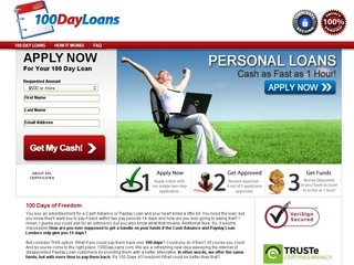 100 Day Loans Coupons - Discount coupon codes & promo codes for 100DayLoans.com