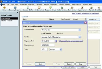 How to Use QuickBooks Loan Manager