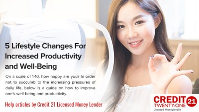 Credit 21: Best Legal and Licensed Money Lender in Singapore Loans