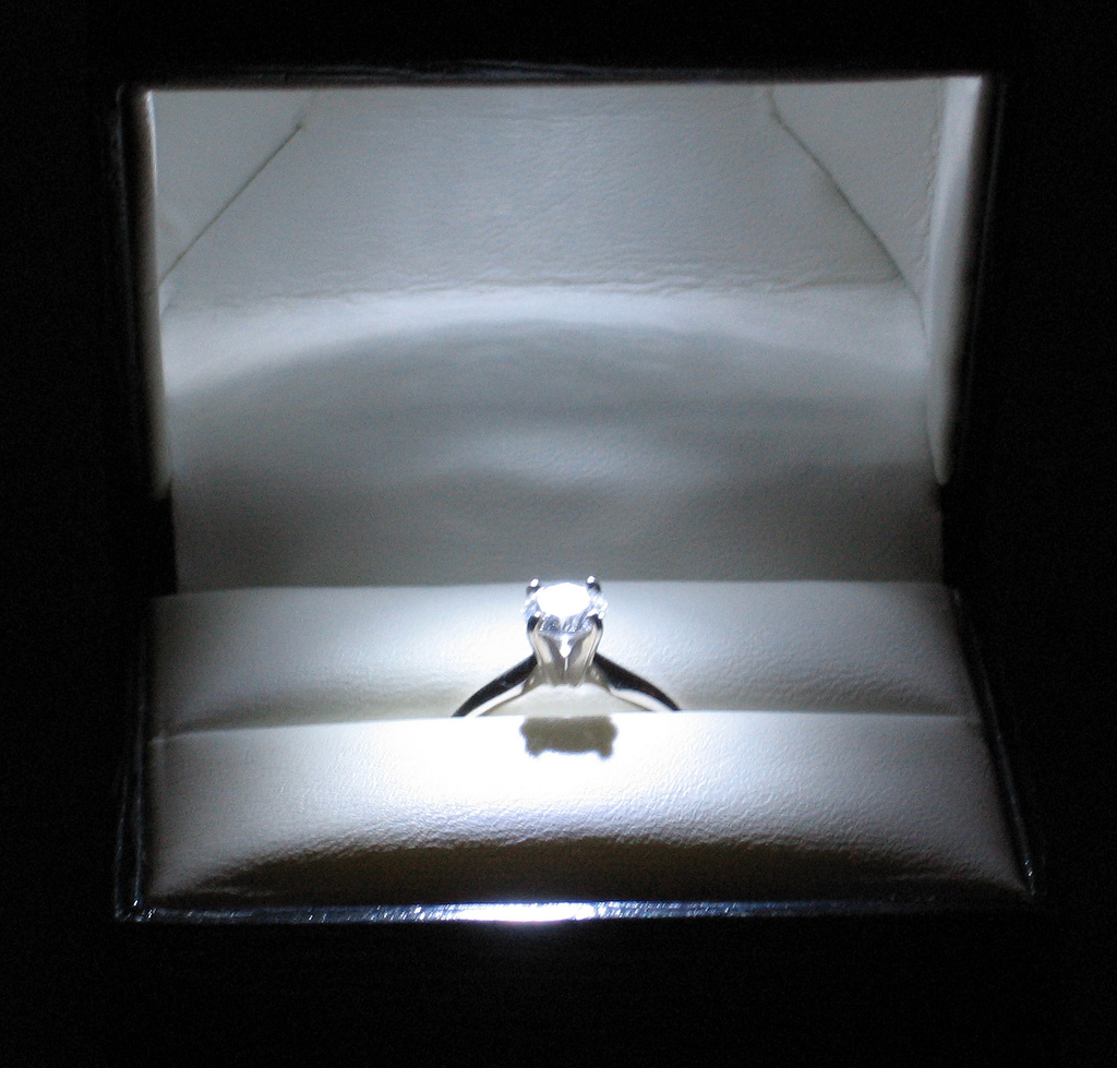 spend engagement ring wedding ring How to Save Money on an Engagement Ring