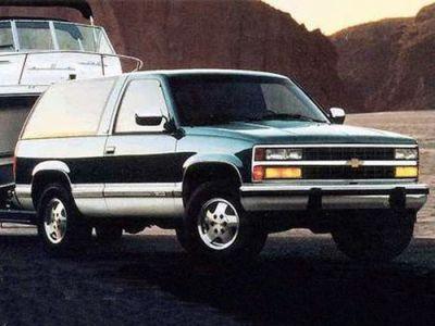 1994 Chevrolet Blazer Overview   Cars.com