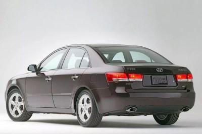 2007 Hyundai Sonata Overview   Cars.com