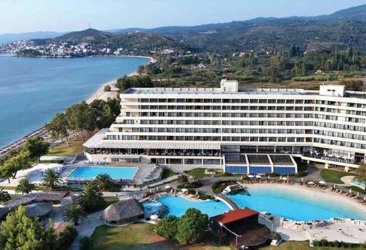 отель Porto Carras Sithonia Греции для отдыха с детьми Греция с детьми ТОП-17 лучших отелей Греции для отдыха с детьми portoc1