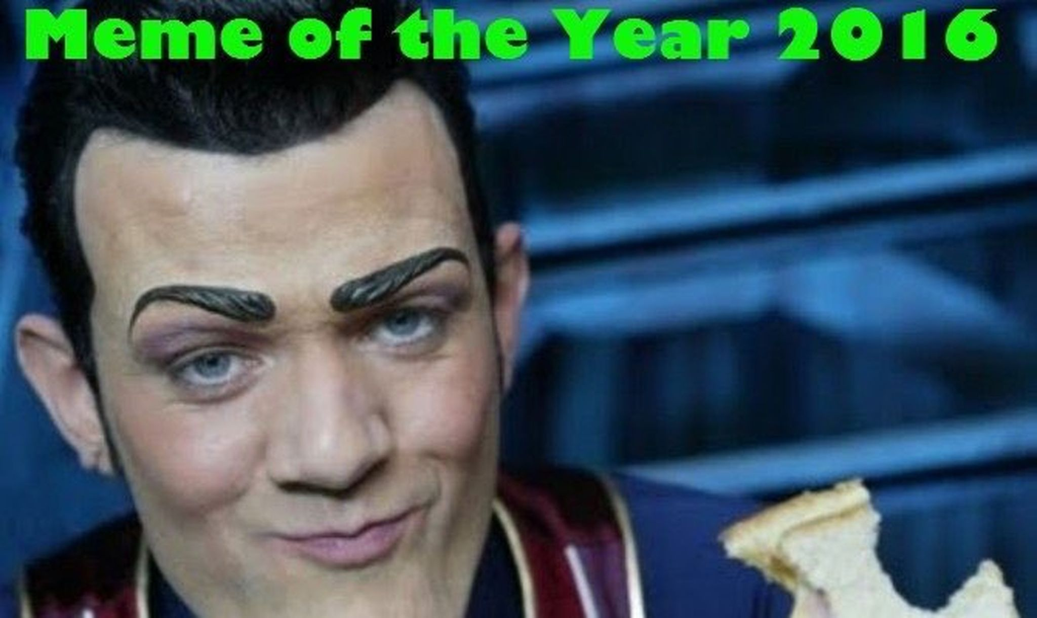 Why Robbie Rotten s  We Are Number One  Was Named  Meme of the Year  robbie rotten lazytown meme of the year