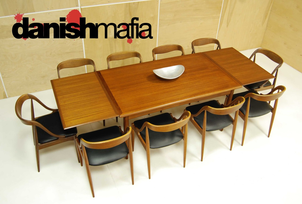 sell one like this mid century danish modern 10 teak johannes andersen dining side chairs set eames mid century kitchen chairs Mid Century Teak Dining Chairs 12