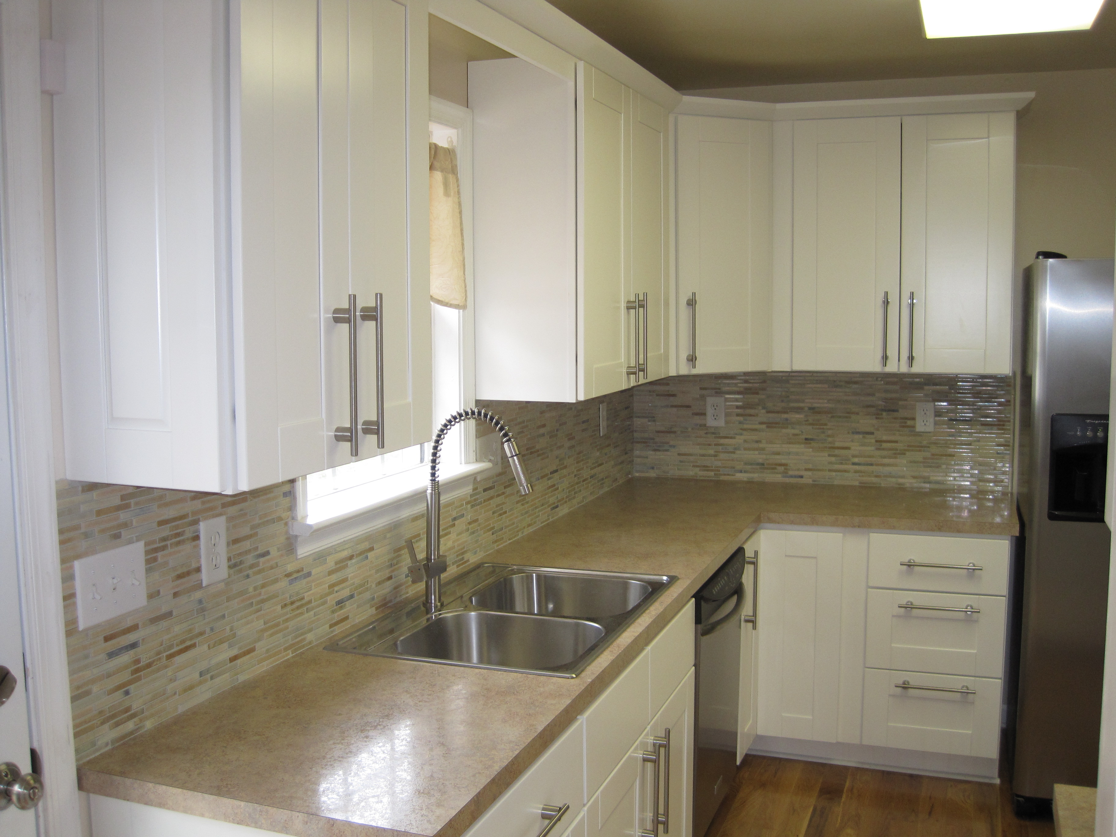 kitchen renovation after kitchen remodeling manassas va Kitchen Remodelling Portfolio Kitchen Renovation Backsplash Tiles