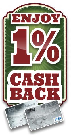 Get 1% Cash Back on Visa Credit Card Purchases | DCU | MA | NH