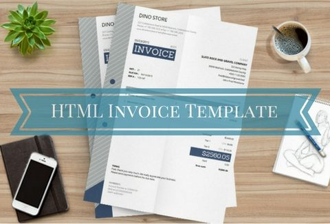 Free HTML Invoice Template with Auto Calculations    DealFuel free html invoice template banner
