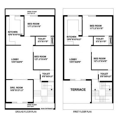 30 feet by 60 feet (30x60) House Plan - DecorChamp