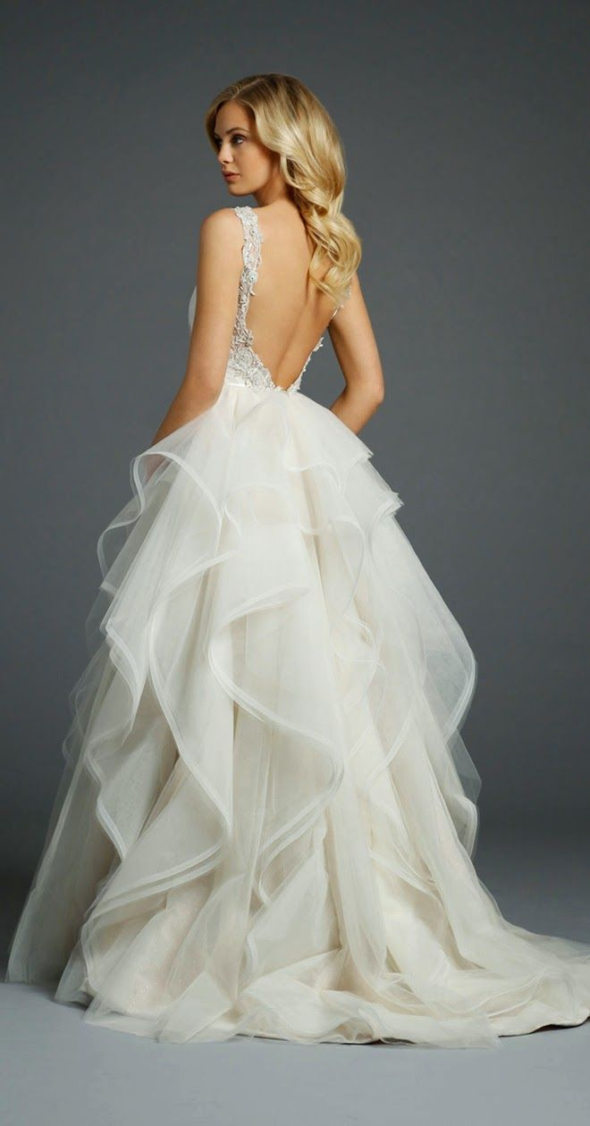 52 perfect low back wedding dresses low back wedding dresses Alvina Valenta Fall Backless Bridal Dress