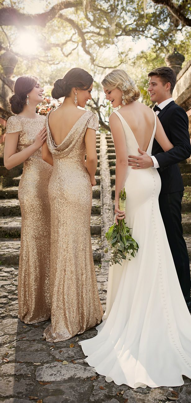 52 perfect low back wedding dresses backless wedding dresses Backless Wedding dress by Essense of Australia