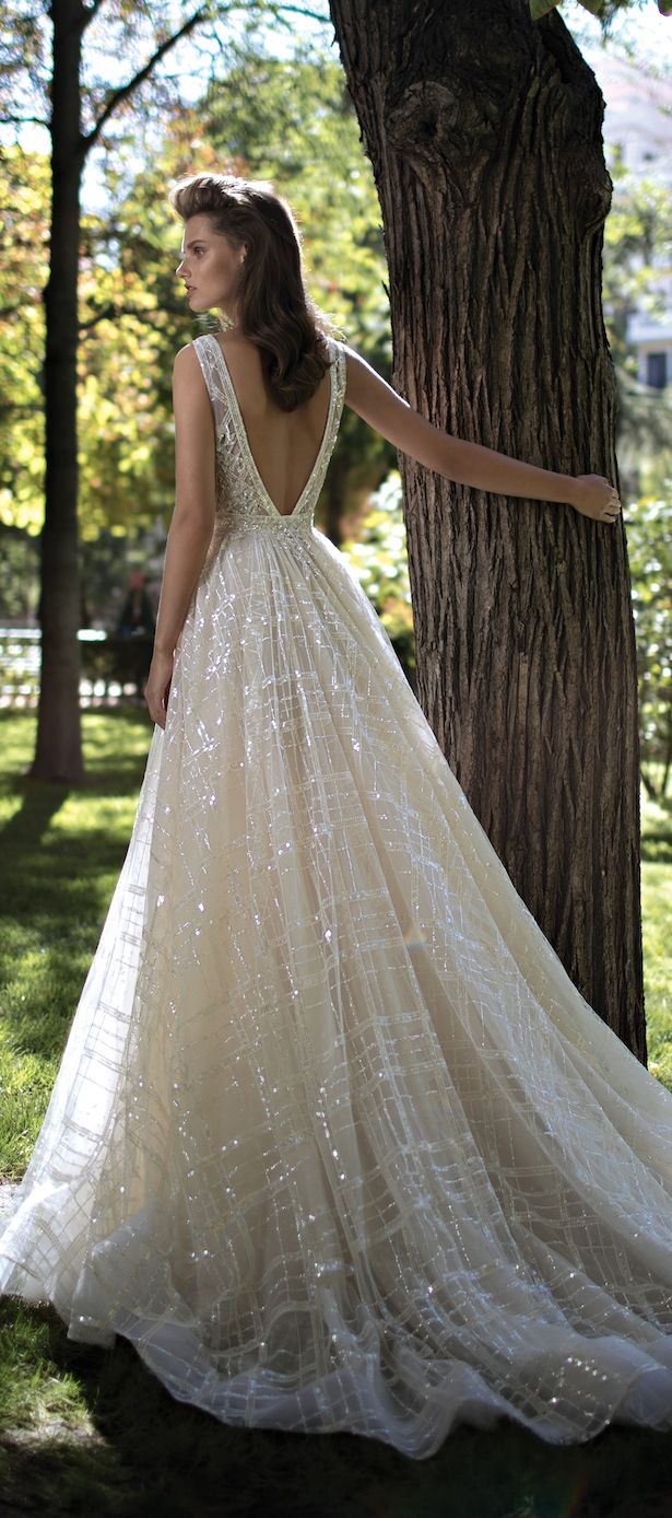 52 perfect low back wedding dresses low back wedding dresses Wedding Dress by Berta Spring