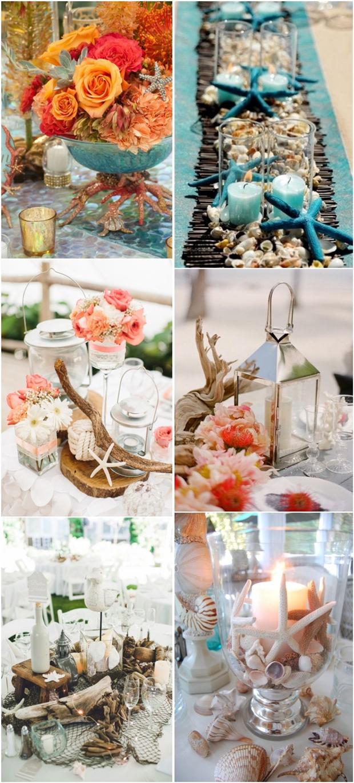 36 amazing beach wedding centerpieces wedding centerpiece beach wedding centerpiece decor ideas
