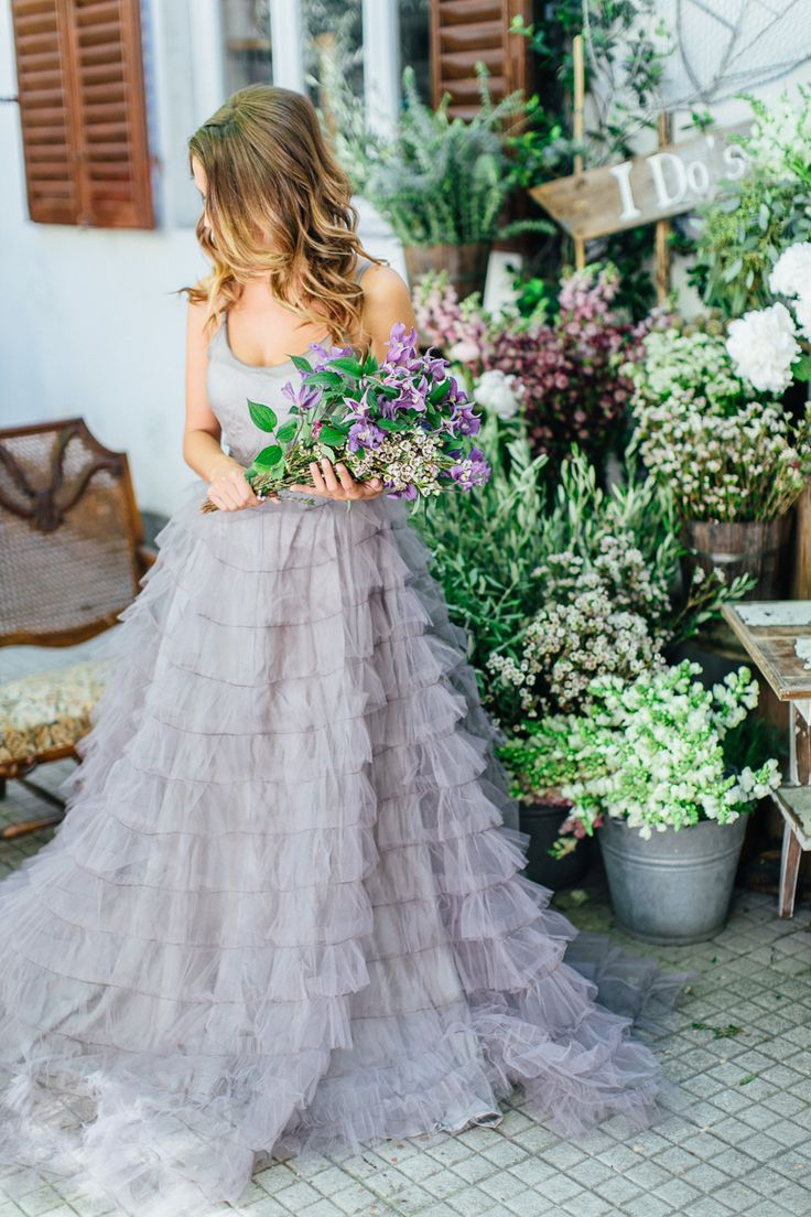 65 loveliest lavender wedding ideas you will love lavender wedding dress ruffle lavender wedding dress