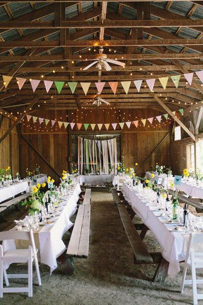 30 Barn Wedding Reception Table Decoration Ideas   Deer ...