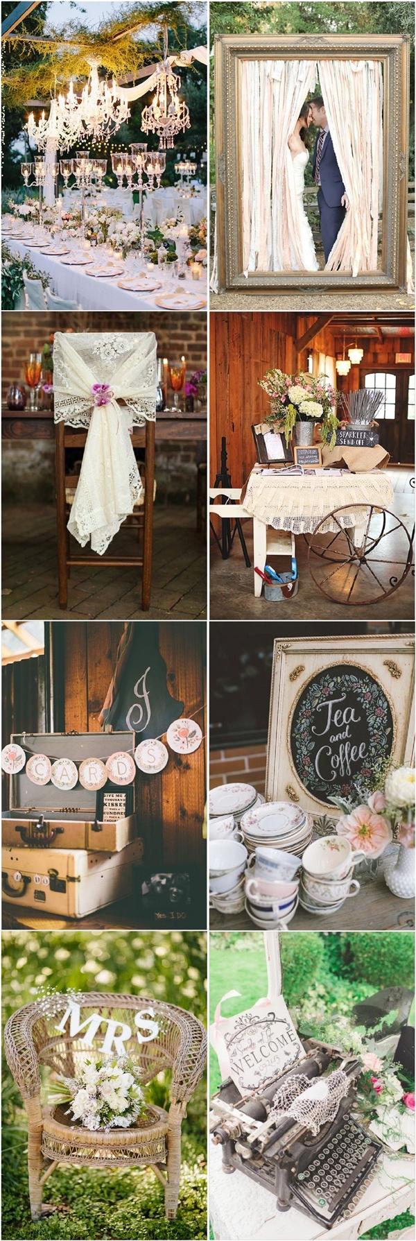 vintage wedding ideas for spring summer weddings vintage wedding ideas chic vintage wedding decor ideas