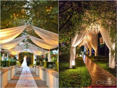 20 Creative Wedding Entrance Walkway Decor Ideas | Deer ...