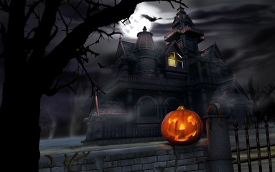 45 Scary Halloween 2012 HD Wallpapers | Pumpkins, Witches, Spider Web, Bats & Ghosts Collection ...