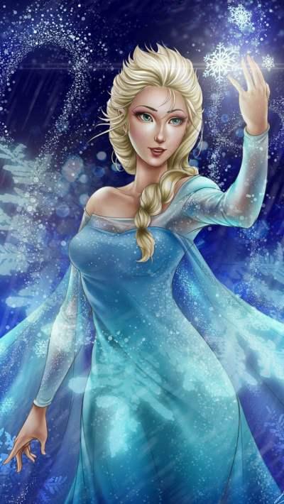Frozen Elsa & Anna Digital Fan Art Wallpapers – Designbolts