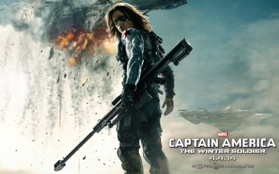 Captain America: The Winter Soldier HD Wallpapers & Facebook Covers – Designbolts
